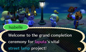 My first public works projects, the humble street lamp