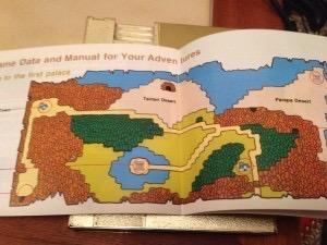 Zelda II map