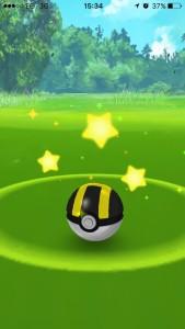 Ultra Pokeball at level 20